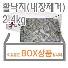 활낙지(10/12)내장제거